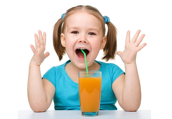 swież sok dla dziecka